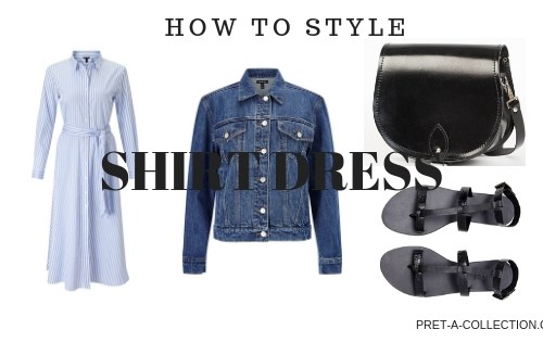 How To StyleShirt dress