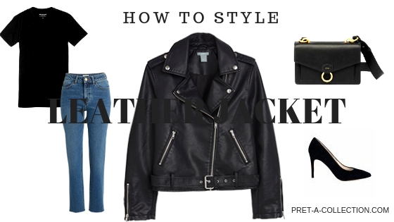 How To Style Leather jacket