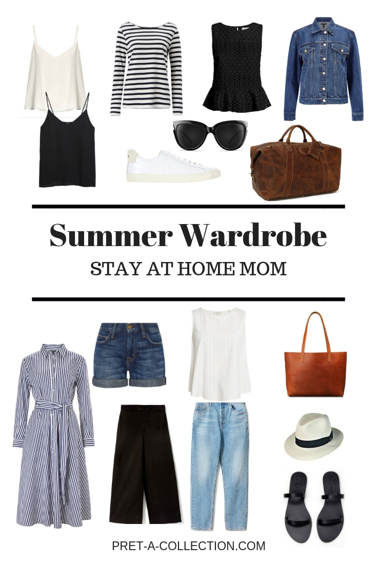 Capsule Wardrobe Stay at home mom