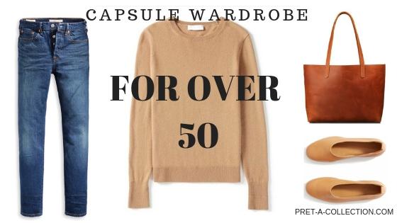 Capsule Warddrobe for Over 50