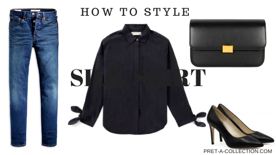 How to style silk shirt