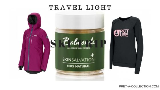 Travel Light Ski trip