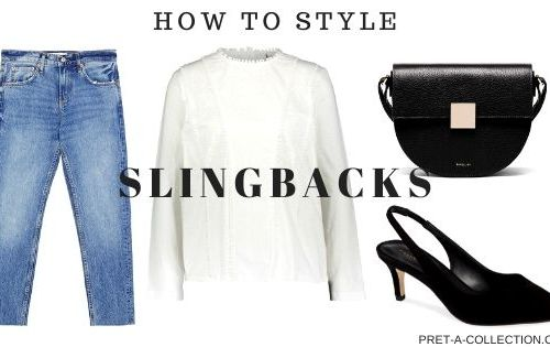 How to style slingbacks