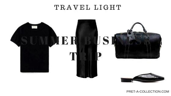 Travel Light Summer Business Trip