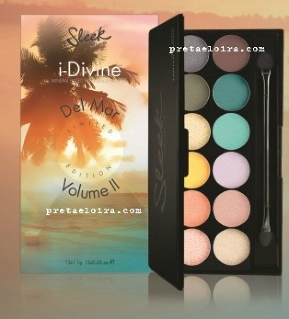Sleek Del Mar Volume II palette