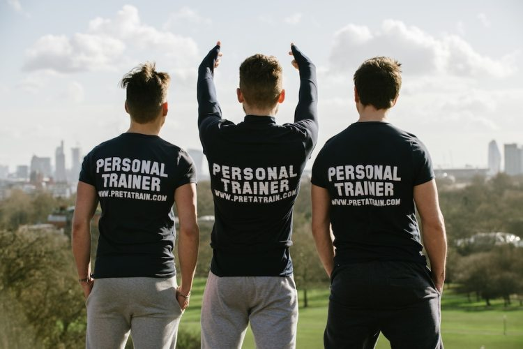 Personal trainers in south london facing city