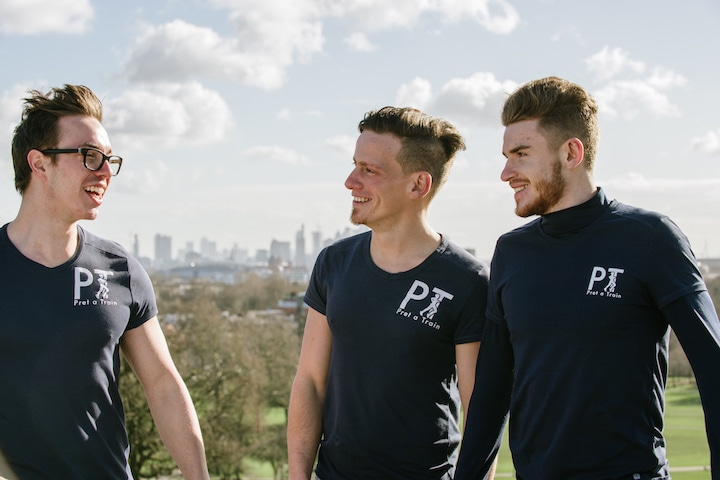 Personal trainers in Putney team Pret-a-Train