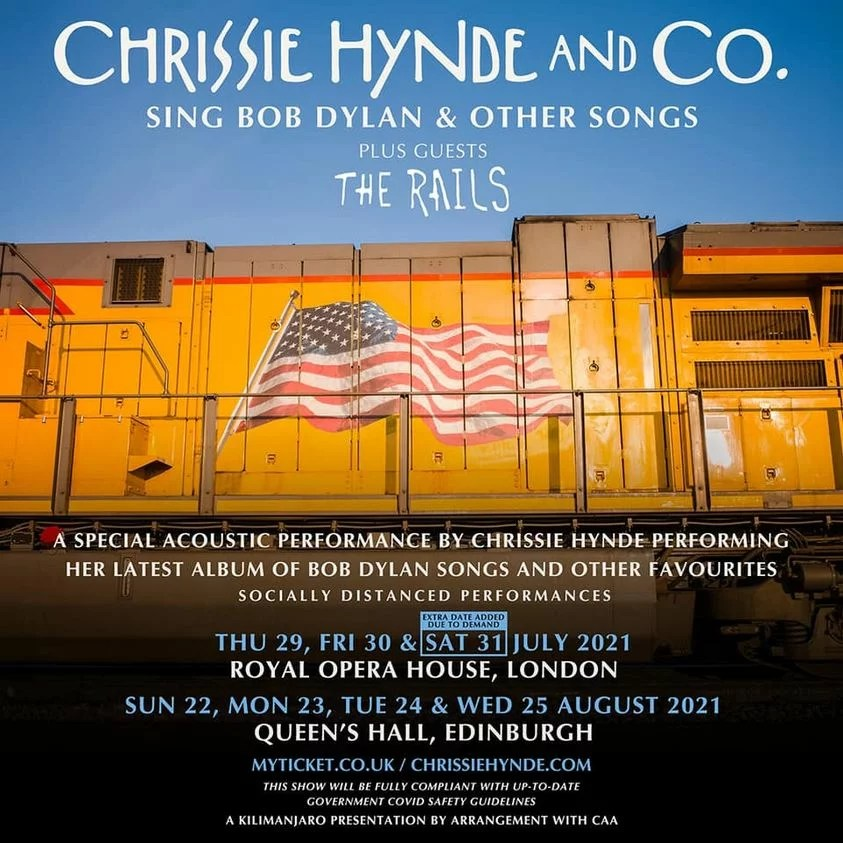 pretenders and chrissie hynde tour news