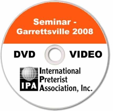 Seminar - Garrettsville 2008 (4 DVDs)