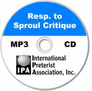 Response to Sproul's Critique (1 track)