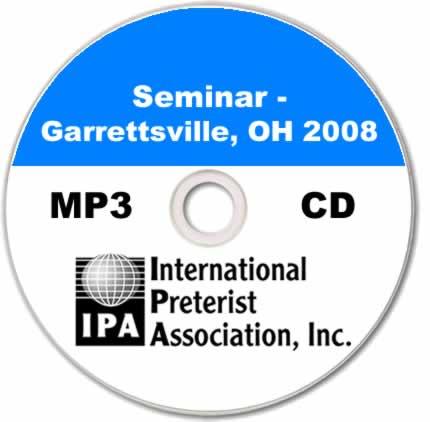 Seminar - Garrettsville 2008 (7 tracks)
