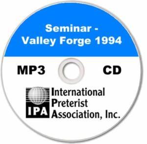 Seminar – Valley Forge PA 1994 (7 tracks)
