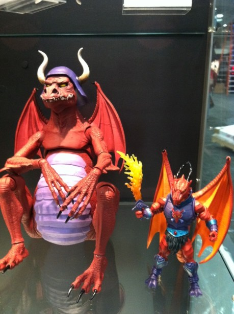 SDCC 2012 - MOTUC Granamyr Comparison Shot