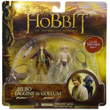 Bridge Direct The Hobbit Bilbo Baggins and Gollum