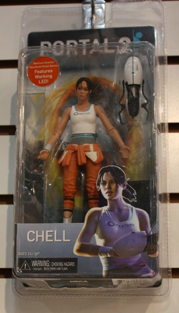 Toy Fair 2013 - NECA Portal 2 Chell Carded
