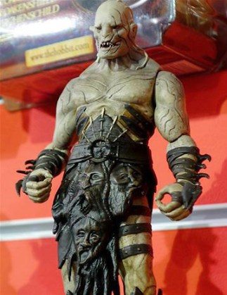 Bridge Direct - The Hobbit Desolation of Smaug Azog SDCC