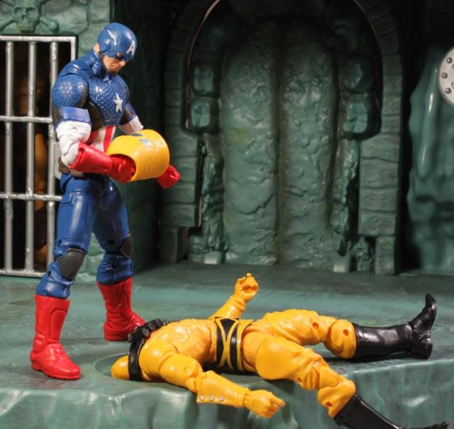 Hasbro Marvel Legends Marvel Now! Captain America Review Mandroid