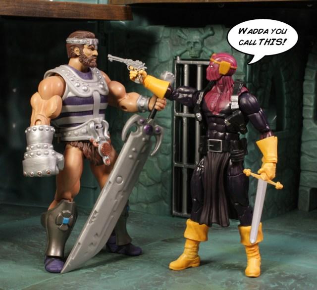 Hasbro Marvel Legends Captain America Infinite Mandroid Baron Zemo Review
