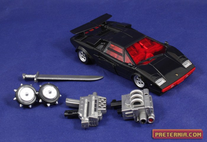 Takara Transformers Masterpiece G2 Sideswipe Lambor Review