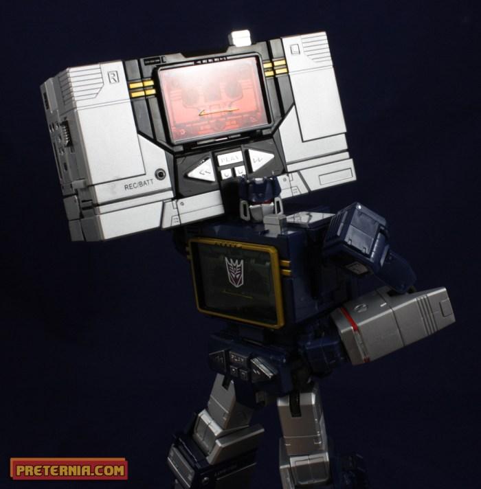 Takara Tomy Transformers Masterpiece MP-13B Soundblater Ratbat Review