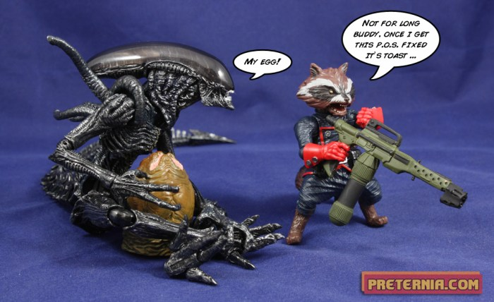 S.H. MonsterArts Alien vs Predator AvP:R Alien Warrior Review