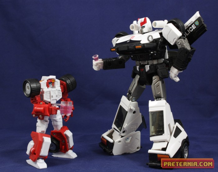 Transformers Third Party Maketoys Trash-Talk and Cogwheel Swerve Gears