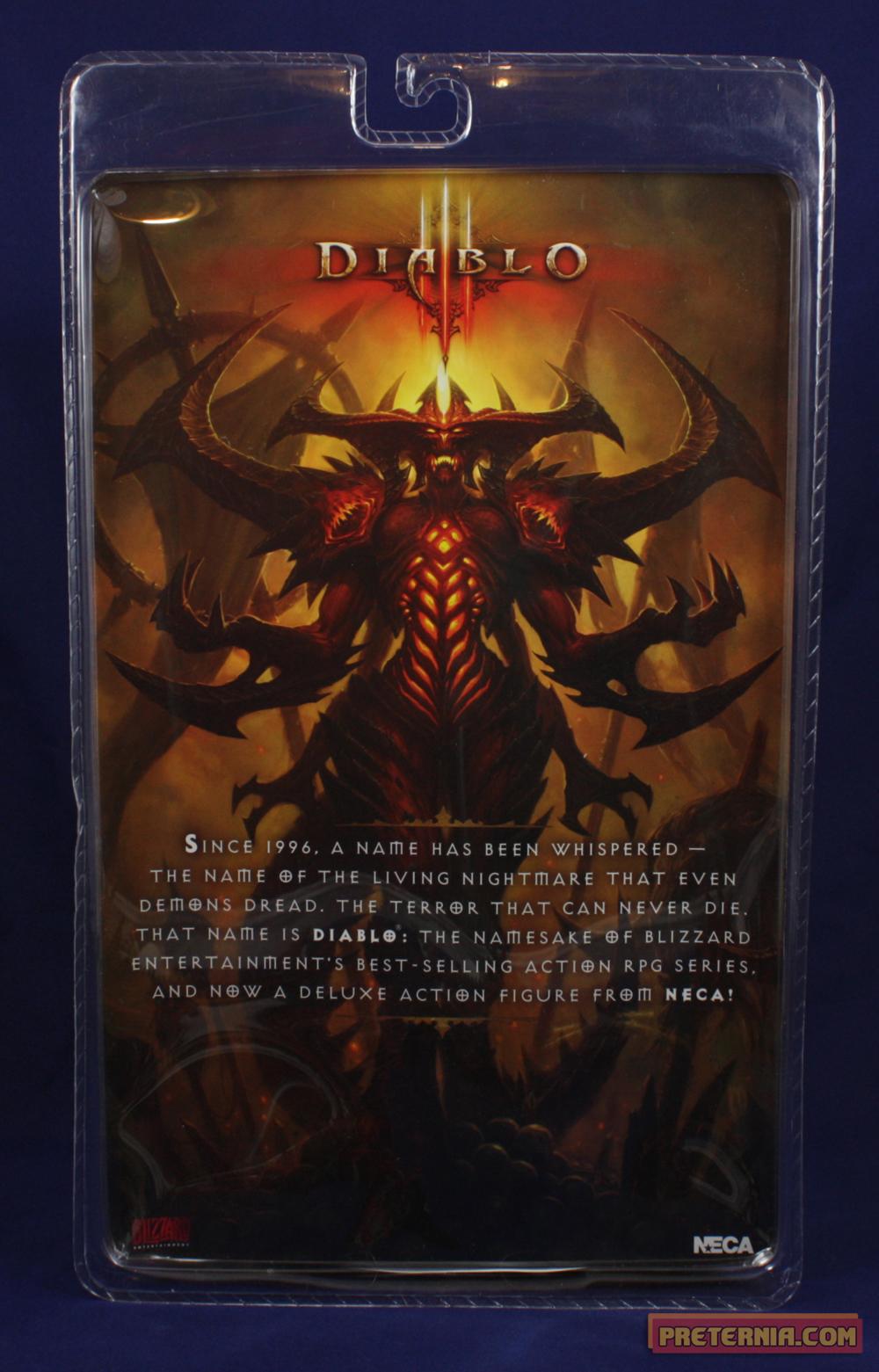 NECA Diablo (Diablo III) Review - Preternia