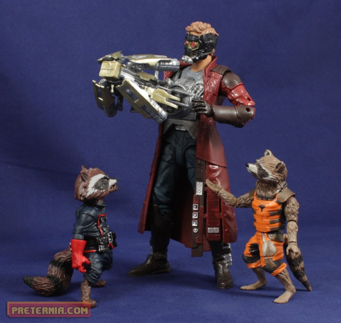 Hasbro Marvel Legends Guardians of the Galaxy Rocket Raccoon Review