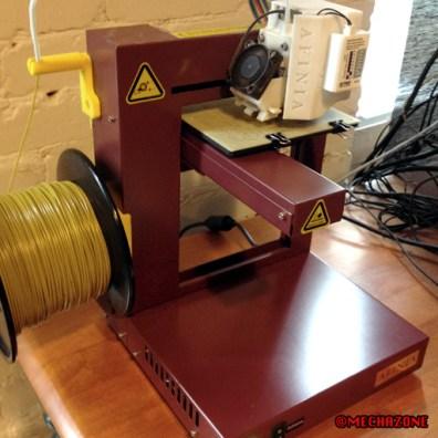 MZ process 04 print the parts