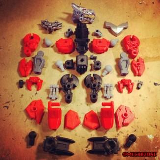 MZ process 06 assemble the parts