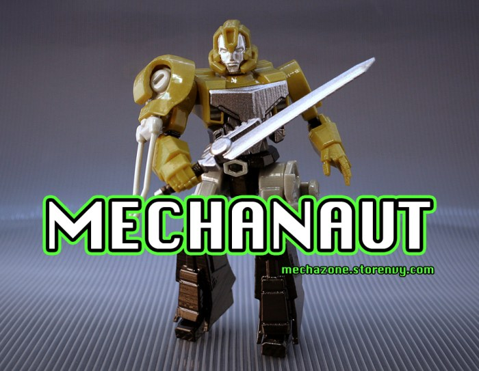 Mechanaut Logo Promo