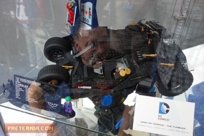 NYCC 2014 DC Collectibles LEGO Tumbler