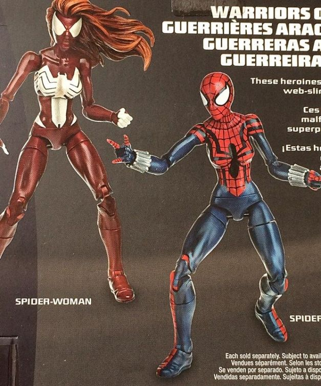 Marvel Legends Spider-Man Infinite 2015 Spider-Woman
