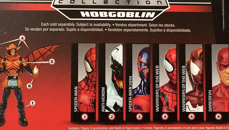 Marvel Legends Spider-Man Infinite 2015 Hobgoblin Wave