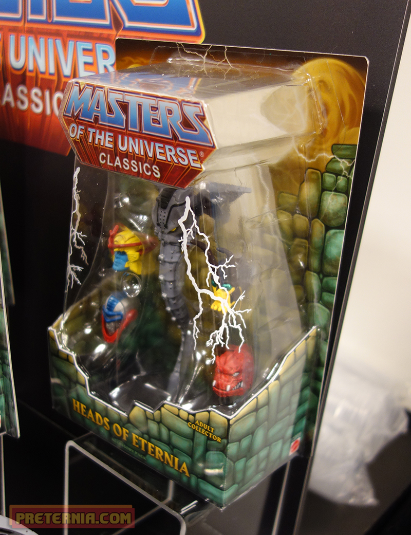 Toy Fair 2015 Mattel MOTUC 200x Heads
