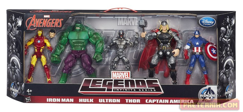 Marvel Legends Avengers 5-Pack EU Disney
