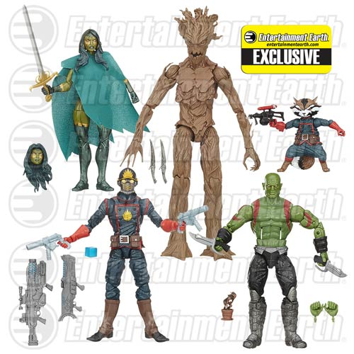 Hasbro Guardians of the Galaxy Marvel Legends Box Set
