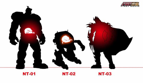 TMNT First Gokin Krang and Shredder