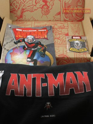 Funko Marvel Collector Corps Ant-Man June Box