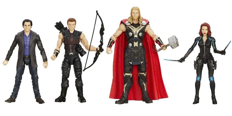 Hasbro Marvel Legends Amazon Avengers 4-Pack