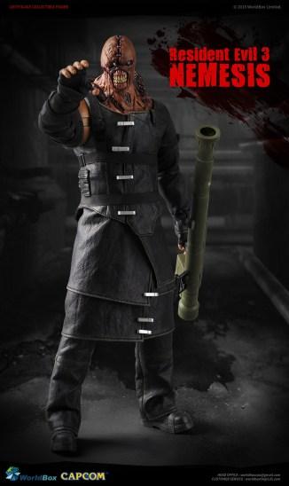 Worldbox 1/6 Scale Resident Evil 3 Nemesis