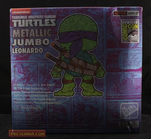 The Loyal Subjects TMNT Action Vinyl Leo