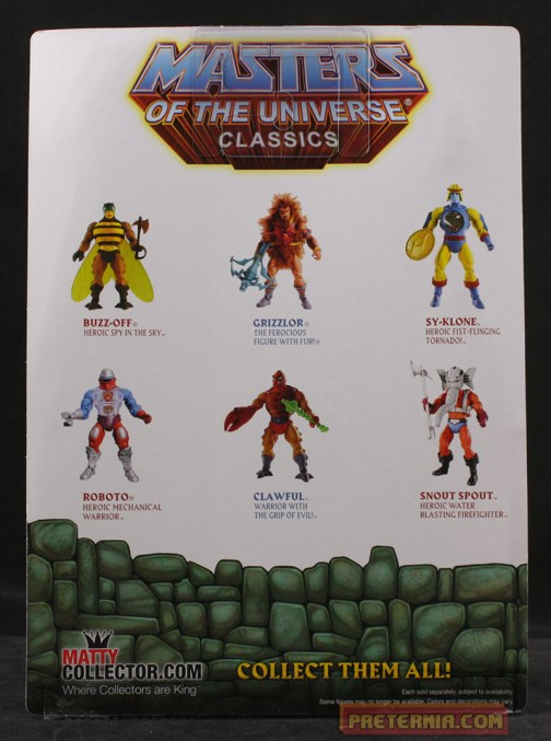 Mattel MOTUC 200x Head Pack Heads of Eternia