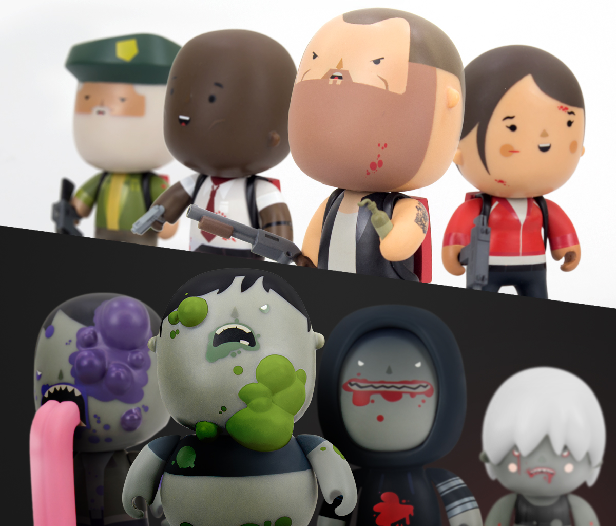 Left 4 Dead Vinylkins Collection Up For Preorder 171 Preternia