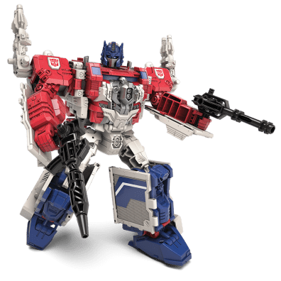 Generations Leader Class Powermaster Optimus Prime