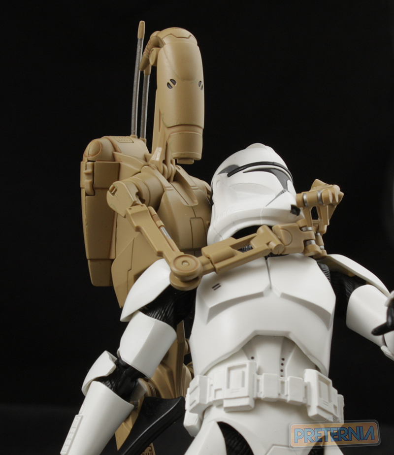 S.H. Figuarts Star Wars Battle Droid Episode 1