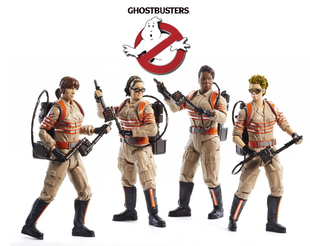 Mattel Female Ghostbusters Six-Inch Line