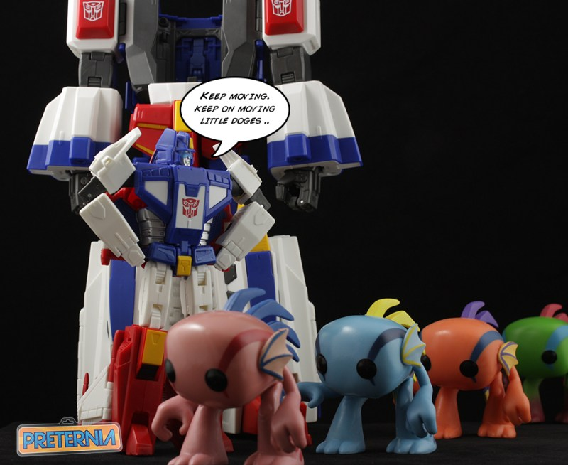 Preternia Top 2015 Takara Masterpiece Star Saber