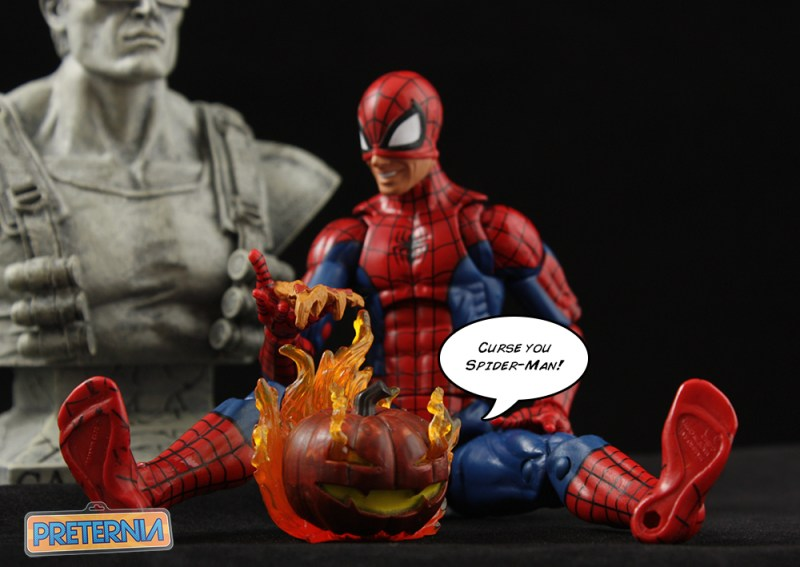 Hasbro Marvel Legends Jack O'Lantern Spider-Man Series Review