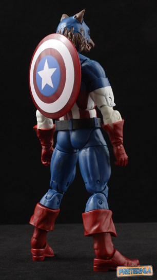 Hasbro Marvel Legends Captain America Capwolf Onslaught Series Review
